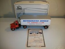 1st Gear H.F. Campbell B-61 Mack Semi Trailer Truck Diecast 1/34 Stock #18-1429