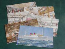 More details for original set of six tuck shipping postcards - furness, bermuda line.