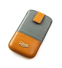 Exclusive Luxustasche QIOTTI braun grau für Blackberry Z10