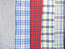 Lot Of 5 Tommy Hilfiger Short Sleeve Button Front Shirts Mens M Medium 3 NWOT