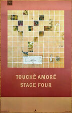 TOUCHE AMORE Stage Four 2016 Ltd Ed New RARE Poster +FREE Metal Rock Poster!