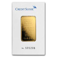 1 oz Gold Bar - Credit Suisse (Classic Assay) - SKU#166440