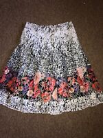 Per Una Ladies Size 12 Stunning Floral Skirt Worn Once Only