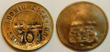 Token coin German Colonies o.Jahr: South West Africa Nr.94 Ludwig Koch SWAK