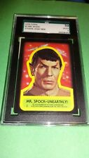 1976 Star Trek Sticker Mr Spock Unearthly! #2 SGC 50 VG-EX