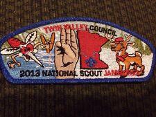Mint 2013 JSP Twin Valley Council Blue Border