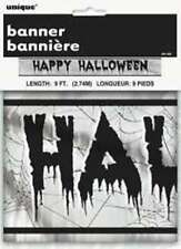 Banner festone Happy Halloween in foil 2.74mt u91162