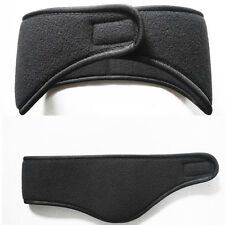 Fancy Head Band Winter Mens WomensStretch Spandex Polar Fleece Ski Ear Muff