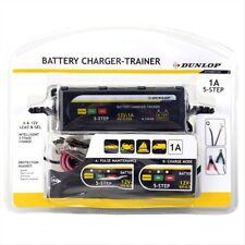 CHARGEUR BATTERIE Auto / Moto / Quad 6V/12V + FONCTION MAINTIEN DE CHARGE DUNLOP