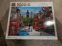 CITY COLLECTION – LONDON 1000 piece jigsaw puzzle by King new