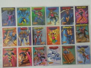 1997 FLEER SKYBOX X-MEN   Full set of  50  Trading Cards
