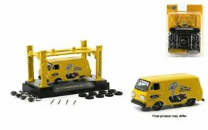 1:64 1965 Ford Econoline Delivery Van -- M2 Machines Model Kits Release 38