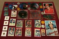 Junk Drawer Lot Collectibles, Joe Montana, Superman, Misc #1/23/1P