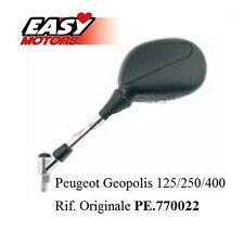 E2221120 SPECCHIO SPECCHIETTO SX PEUGEOT GEOPOLIS 125/250/400 cc anni: 2007>>