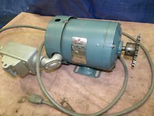 Reliance Duty Master Electric Motor 1/6 hp S48E1009P-Dq 1140 rpm 115v Industrial