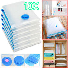 10Pcs 90x50cm Vacuum Storage Bag For Clothes Saving Bag Vaccum Pack Saver UKES