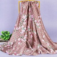 Silk Scarf Woman Long Luxury Brand 2019 designer Scarves Large Long Shawl wraps