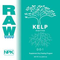 RAW NPK Organic Soluble Nutrients All Sizes Original Packaging - Kelp