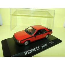 RENAULT FUEGO 1981 Rouge NOREV Collection M6 1:43