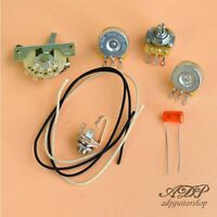 Wiring Kit style Stratocaster Composants Non Cables Control Strat Orange Drop