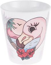 Küstenluder Flamingo en Love Pineapple piñas taza Mug rockabilly