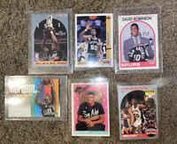 David Robinson 6 Card Lot Rookie Card All Rookie Team The Admiral Spurs