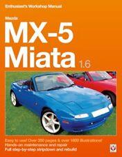 Mazda MX-5 Miata 1.6 Enthusiast's Workshop Manual book paper
