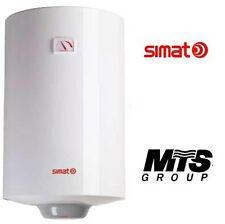 Scaldabagno boiler scalda bagno scaldacqua elettrico SIMAT 80L verticale 2 anni