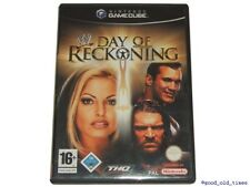# wwe: Day of reckoning 1 (allemand) Nintendo GameCube/GC jeu-top #