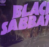 Black Sabbath Master of Reality LP +POSTER embossed cover Vertigo swirl 1971