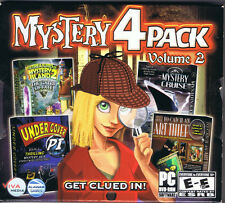 Mystery 4 Pack - Volume 2 (PC, 2010, Alawar Games)