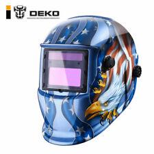 DEKO Solar Auto Darkening Welding Helmet Tig Mig Arc Mask Grinding Welder Mask
