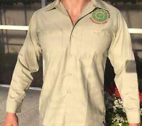 1995 Disneyland Indiana Jones Opening Cast Member Costume Disney Uniform Shirt
