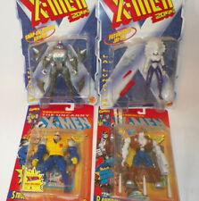ToyBiz Uncanny X-Men, X-men 2099, Xmen Figures lot of 4 Free Ship