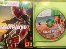 Max Payne 3 (Microsoft Xbox 360, 2012) COMPLETE!