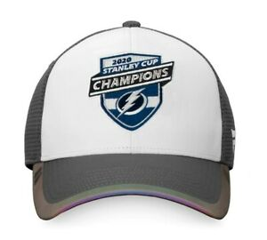Official 2020 Stanley Cup Final Champions Tampa Bay Lightning Snapback Hat