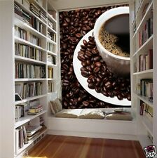 Mural wall sticker - Coffee bean 5 pi x 8 pi ADHESIF DECO DECOR