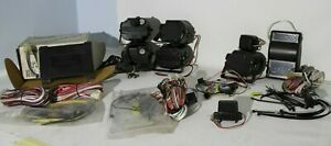 Clifford Car Alarm System, Remote Starter, Sirens, Shock Sensor. All NEW