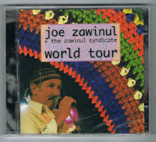 JOE ZAWINUL + THE ZAWINUL SYNDICATE - WORLD TOUR - 2 CD SET -  NEUF NEW NEU