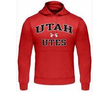 Utah Utes Fleece Hoddie Sweatshirt by Under Armour NWT NCAA new with tags