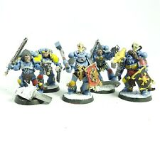 Warhammer 40k Army Space Marine Space Wolves 5 man Squad Painted