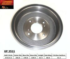 Brake Drum fits 1974-2001 Nissan Altima 200SX Stanza  BEST BRAKES USA