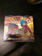 ♦ dragon ball super ♦ box 24 boosters the tournament of power-English//French