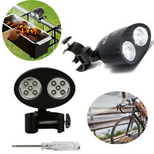 Upgrade Ultra Bright LED BBQ Grill Light with Touch Sensor Switch Outdoor Black