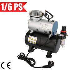 Airbrush Kompressor 1/6PS Airbrushkompressor 4 bar Einzylinder Abschaltautomatik