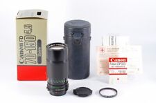 """""""Mint"""" """"in Box"""" Canon New FD 70-150mm F/4.5 MF Zoom Lens From Japan 72A"""