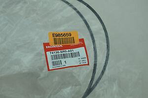 NEW GENUINE OEM HONDA CIVIC HOOD RELEASE CABLE 74130-SR0-A01 EG 1992-1995