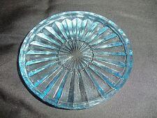 *NEW* vintage Set of 4 Fostoria HERITAGE light BLUE coasters