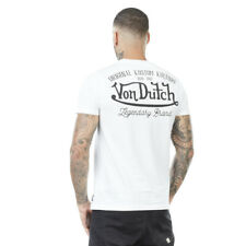 Von Dutch T-shirt Big Flocage VD  moto Harley Bikers      (VD/1/TSC/EYE/W)