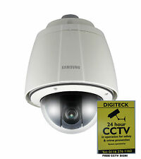 SAMSUNG SNP-6200HP IP PTZ POE CAT5 NETWORK CCTV CAMERA 2MP 20X ZOOM WITH HEATER